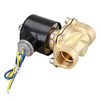 """Клапан электромагнитный 12в норм.закрытый 1/2"""" металический"""