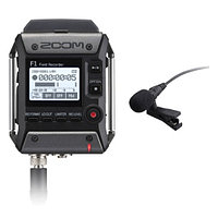 Двухканальный портативный аудио рекордер, Zoom F1-LP