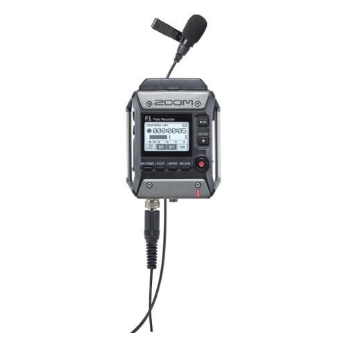 Двухканальный портативный аудио рекордер, Zoom F1-LP - фото 2