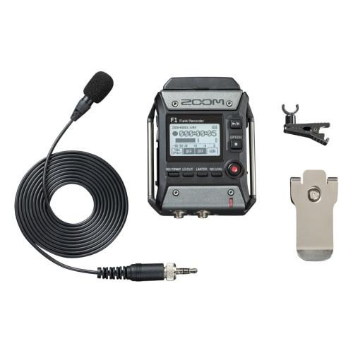 Двухканальный портативный аудио рекордер, Zoom F1-LP - фото 4