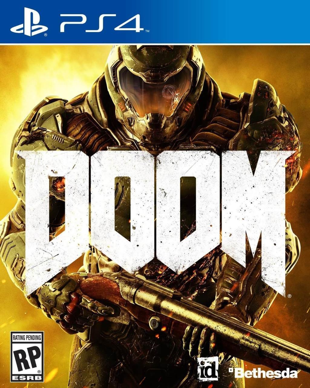 Doom (PS4) б.у