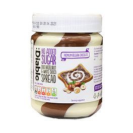 DIABLO Шоколадно-ореховая паста (темный и белый шоколад), 350 г