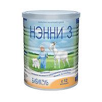 Молочная смесь НЭННИ 3 на основе козьего молока, 400 г