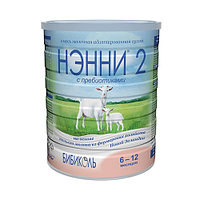 Молочная смесь НЭННИ 2 на основе козьего молока, с пребиотиками, 400 г