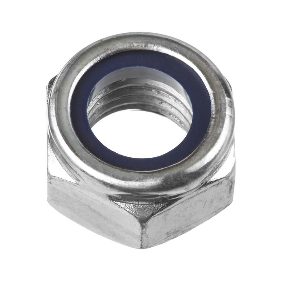 Гайка шестигранная со стопорным кольцом