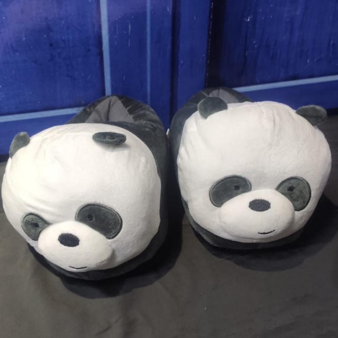Тапочки Панда - Мы обычные медведи