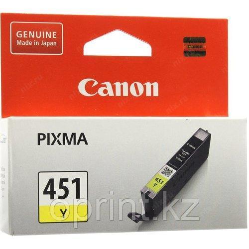 Картридж Canon CL451 желтый