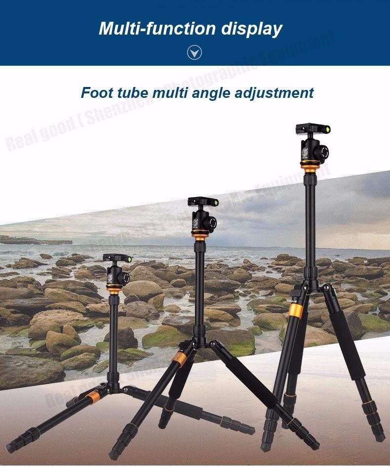 Штатив/ монопод Beike Q999S алюминиевый Профессиональный для фотоаппарата - фото 8