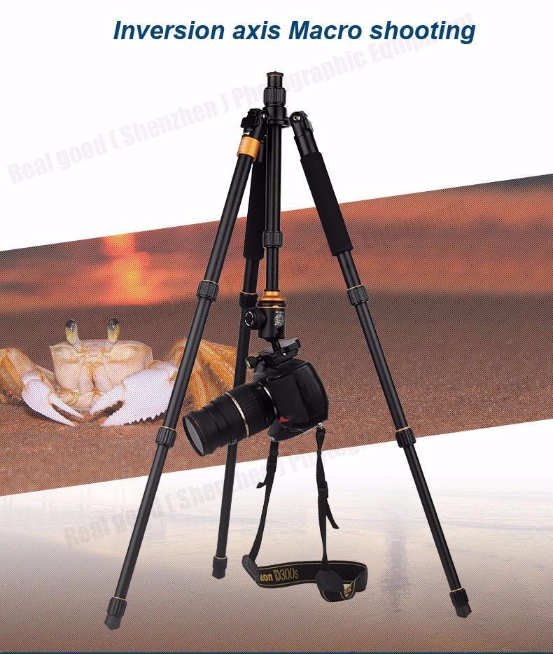 Штатив/ монопод Beike Q999S алюминиевый Профессиональный для фотоаппарата - фото 9