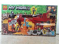 Конструктор LARI My world 11362 378 pcs. Minecraft. Майнкрафт