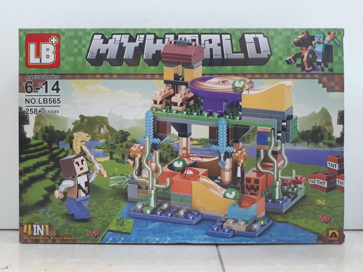 Конструктор LB+ My world LB565 258 pcs. Minecraft. Майнкрафт