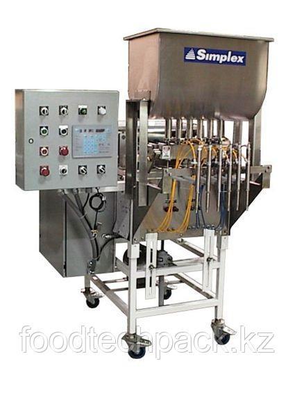 Автоматический объемный дозатор SIMPLEX MT-1200 для скоростных линий дозирования в небольшую тару
