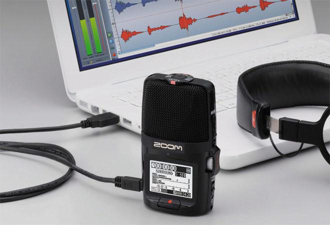 Многофункциональный портативный аудио рекордер Zoom H2n - фото 4