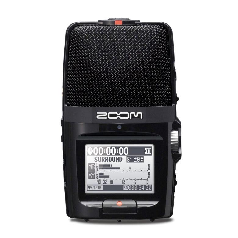 Многофункциональный портативный аудио рекордер Zoom H2n - фото 1