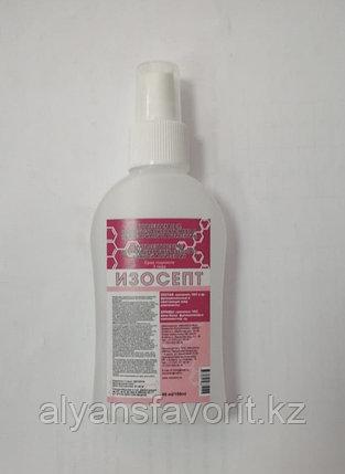 Изосепт - антисептик для рук (санитазер) 90 мл. (спрей карманный). РК, фото 2