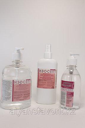 Изосепт - антисептик для рук (санитайзер) 500 мл. РК, фото 2