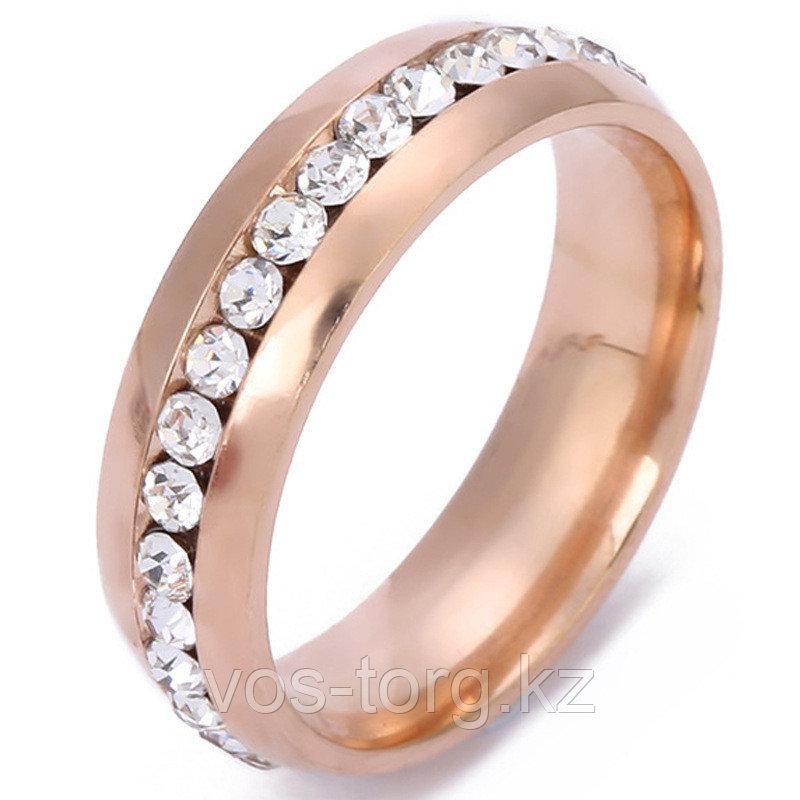 """Кольцо """"Обручальное кольцо"""" red - фото 4"""
