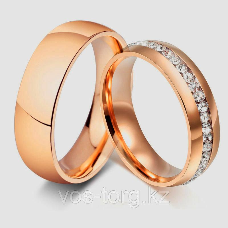 """Кольцо """"Обручальное кольцо"""" red - фото 1"""