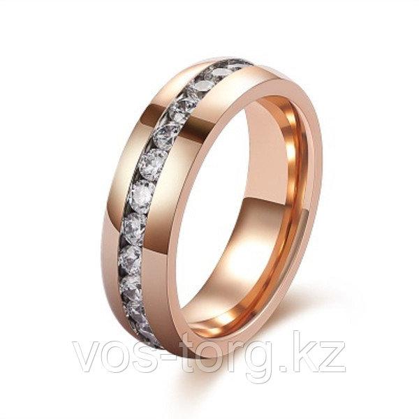 """Кольцо """"Обручальное кольцо"""" red - фото 6"""