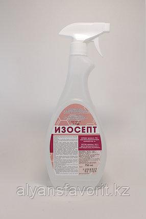 Изосепт - дезинфицирующее средство и антисептик для рук. 750 мл с триггером. РК, фото 2