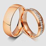 """Кольцо """"Обручальное кольцо"""" red, фото 4"""