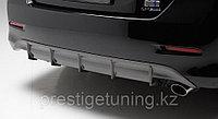 Диффузор на задний бампер на Camry V50 2011-14