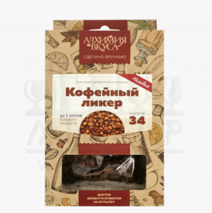 """Набор Алхимия вкуса для приготовления наливки """"Кофейный ликер"""", 30 г"""