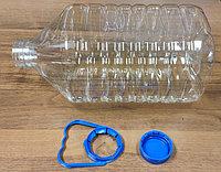 Бутылка PET 5Л + крышка РОЗНИЦА(48шт в упак)