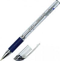 Ручка шар. Cello Impact синяя прозр.корпус упор 0,6мм