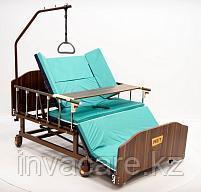 МЕТ REMEKS XL Механическая медицинская кровать с переворотом и туалетом, с увеличенной шириной ложа