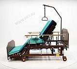 МЕТ REMEKS XL Механическая медицинская кровать с переворотом и туалетом, с увеличенной шириной ложа, фото 2