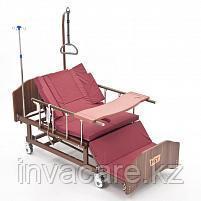 MET REVEL XL (120см) Электрическая медицинская кровать с переворотом и туалетом с увеличенным ложе