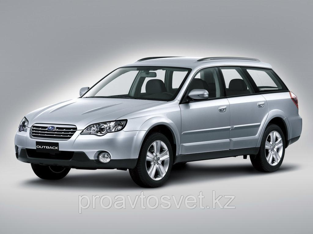 Переходные рамки на Subaru Outback (2004-2009) для Hella 3R