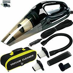 Пылесос для авто и дома  Powerful Car Vacuum Cleaner