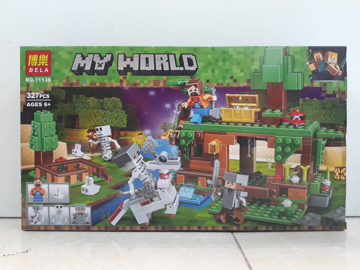 Конструктор Bela My world 11138 327 pcs. Minecraft. Майнкрафт
