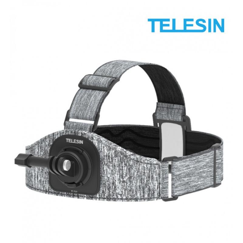 Крепление на голову TELESIN для GoPro HERO 8/7/6/5/4/3+/3, SONY, SJCAM