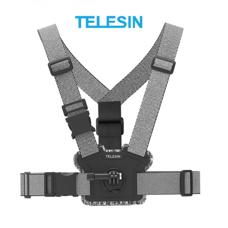 Крепление на грудь TELESIN для GoPro HERO 8/7/6/5/4/3+/3, SONY, SJCAM