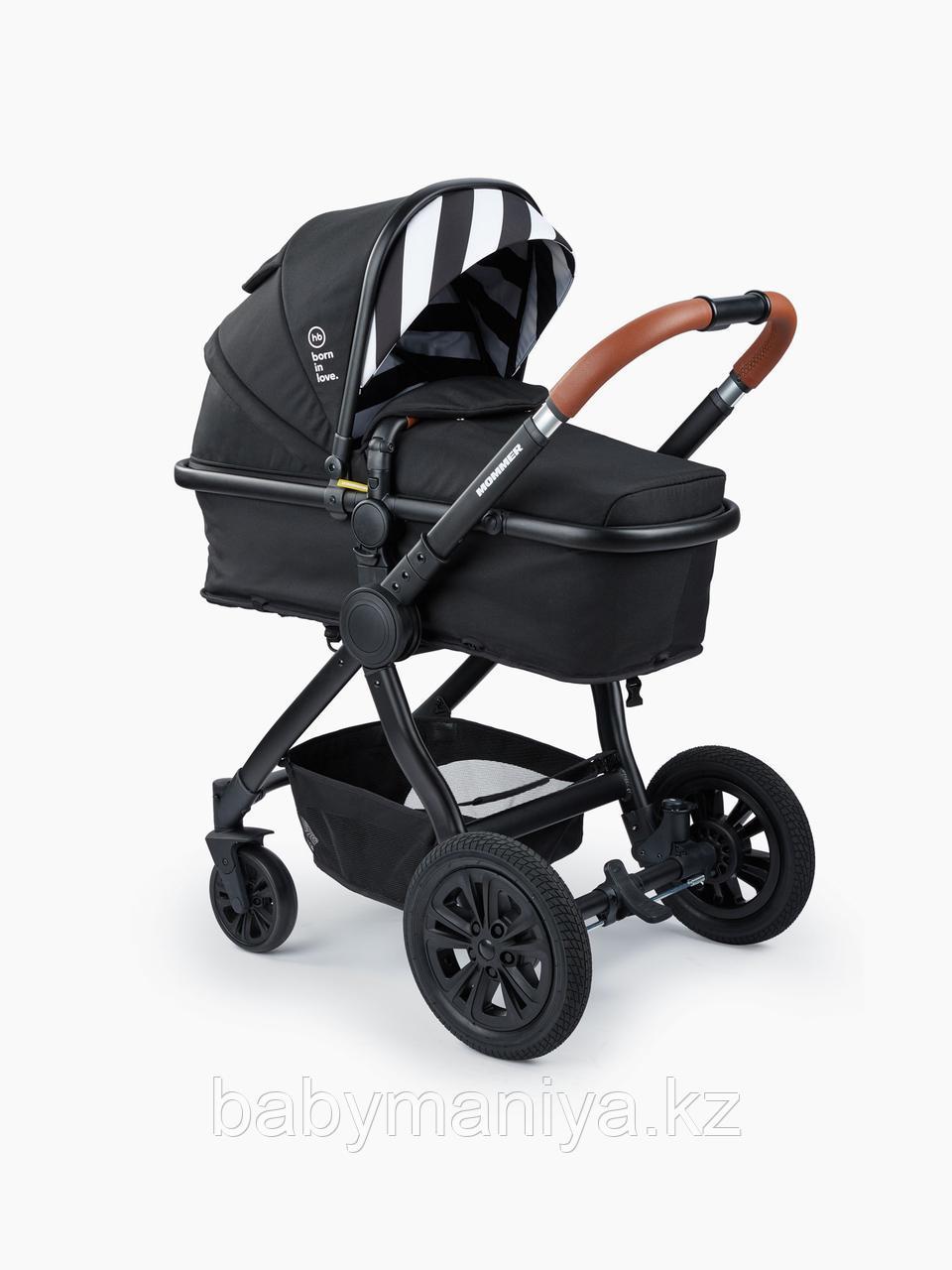 Коляска-трансформер 2 в 1 Happy Baby MOMMER Black