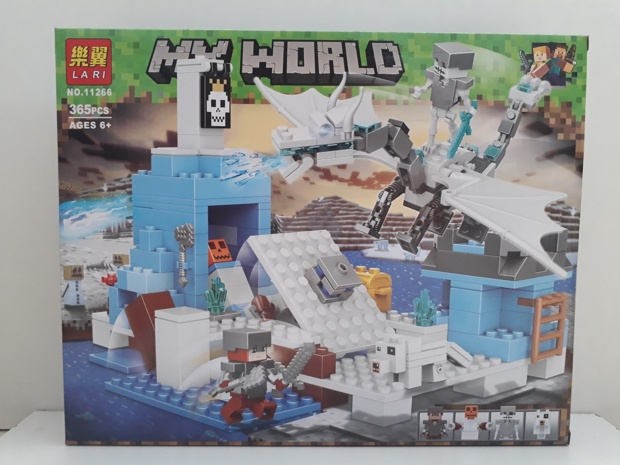 Конструктор LARI My world 11266 365 pcs. Minecraft. Майнкрафт