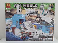 Конструктор LARI My world 11266 365 pcs. Minecraft. Майнкрафт