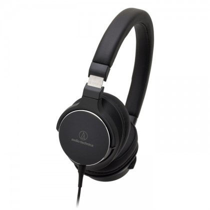 Наушники-накладные проводные Audio-technica ATH-SR5 BK черный