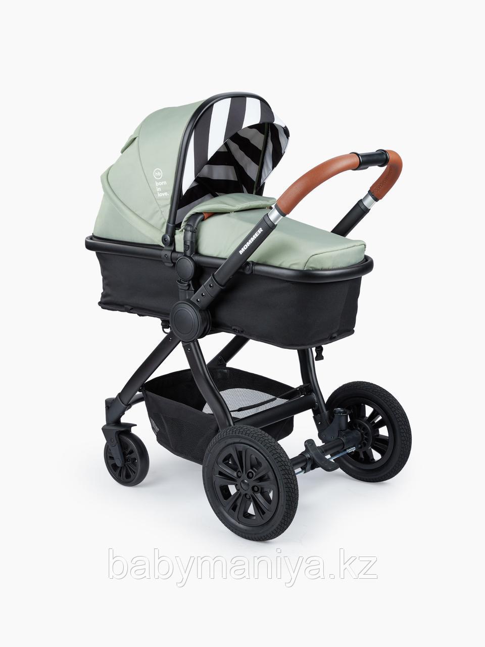 Коляска-трансформер 2 в 1 Happy Baby MOMMER Dark Green