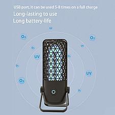 Антибактериальная кварцевая лампа для помещений. Облучатель бактерицидный Smart4me, фото 3
