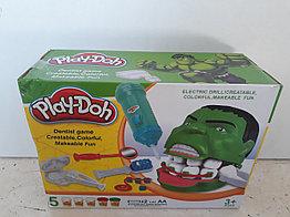 Игра Мистер Зубастик. Халк. Hulk. Классный подарок. Play-Doh. Пластилин.