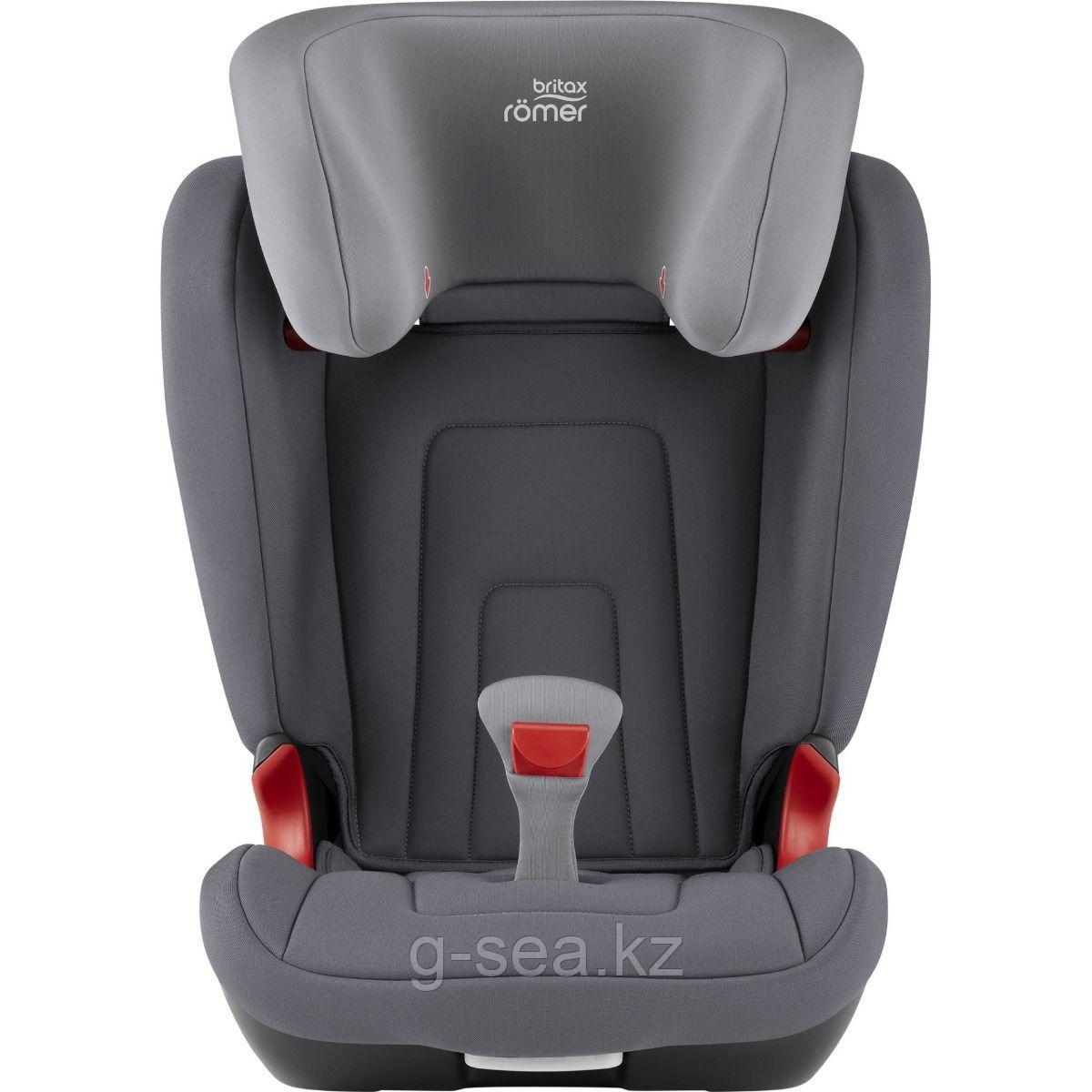 Britax Roemer: Автокресло  Kidfix2 R Storm Grey Trendline (15-36кг) 2г+