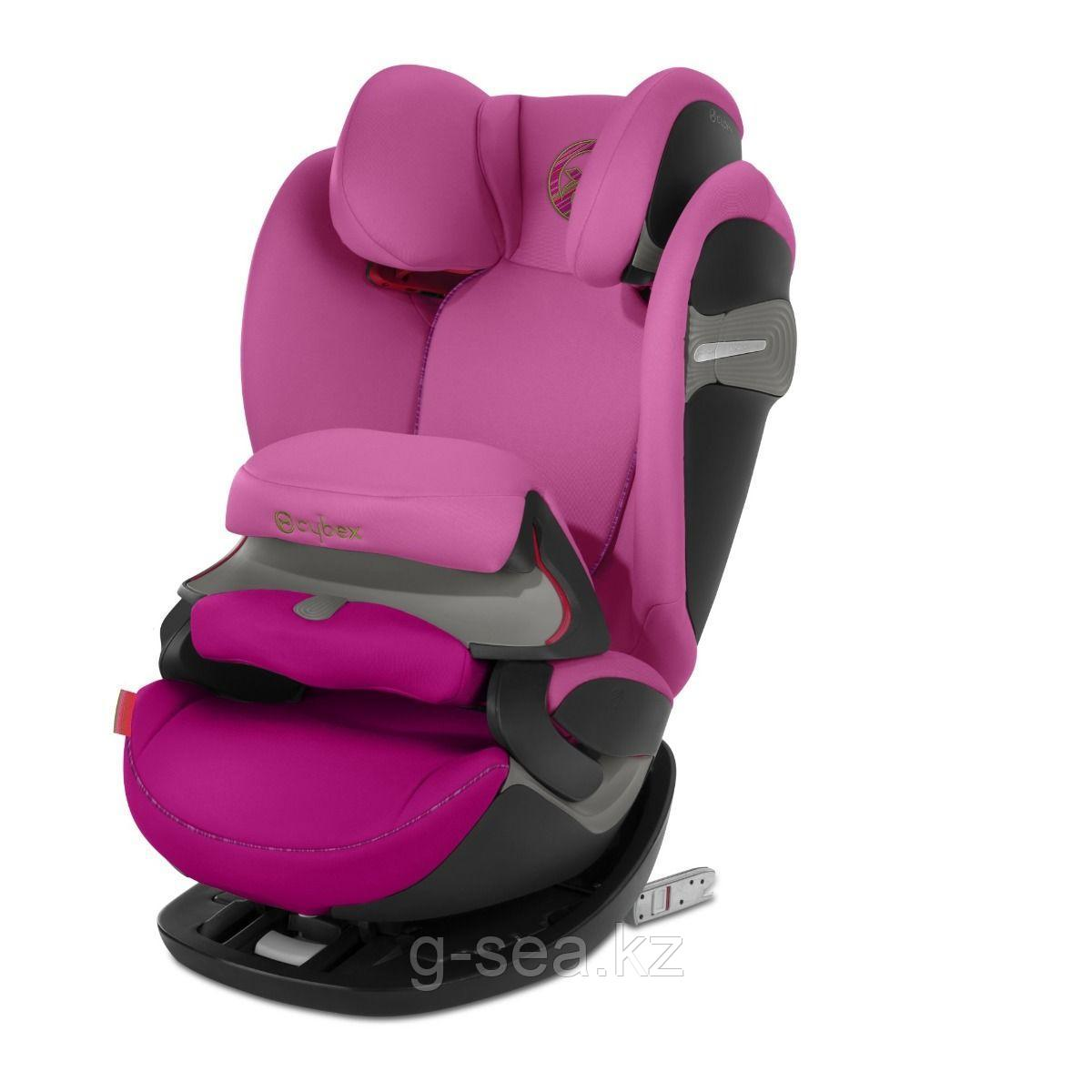 Cybex: Автокресло Pallas S-Fix Fancy Pink (9-36кг) 9м+