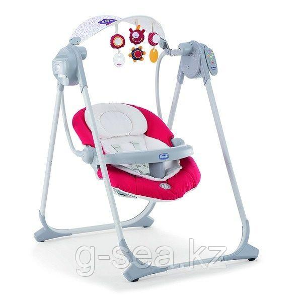 Chicco: Кресло-качалка Polly Swing Up Paprika крас.