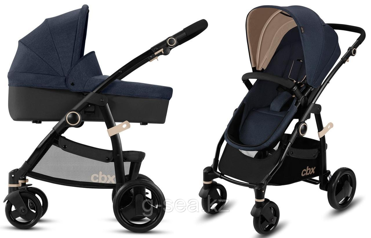 Cybex: Коляска 2 в 1 Leotie Pure Jeansy Blue 0+