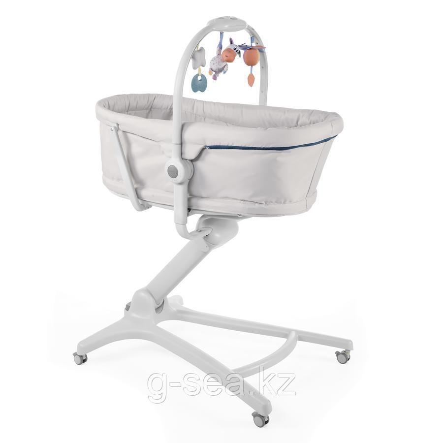 Chicco: Кроватка-стульчик Baby Hug 4-в-1 Glacial