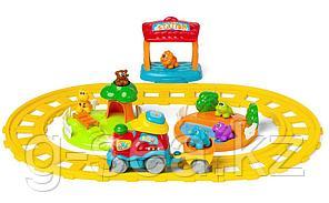 Chicco: Игрушка музыкальная Поезд приключений ABC 12м+
